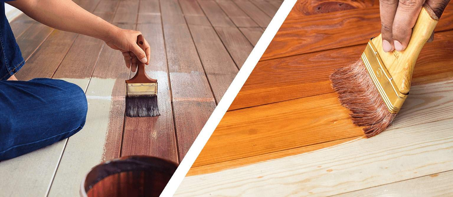 Should you stain or seal your wood