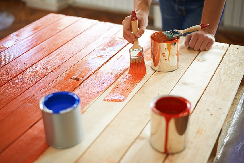 How To Paint Wood – Step By Step Guide