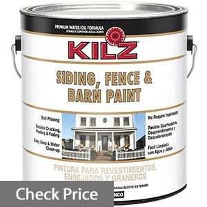 exterior paint for fence and siding