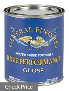 water based clear coat for kitchen cabinets